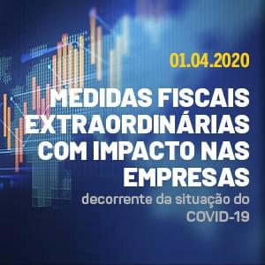 Webinar Medidas Fiscais Extraordinárias com Impacto nas Empresas