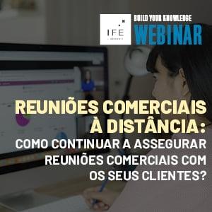 Webinar reuniões comerciais à distancia