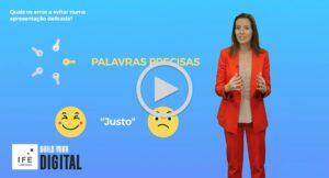 Formação em vídeo Falar em Público Alcina Monteiro