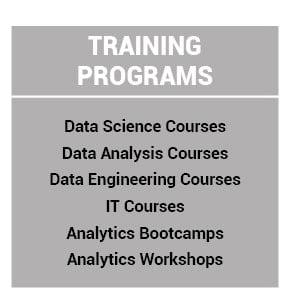 Analytics Academy Training Programs